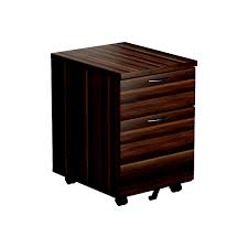 JEMINI FF JEMINI FIXED PEDESTAL 2 DRAWER WALNUT