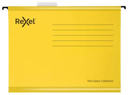 Rexel YELLOW A4 CLASSIC SUSPENSIONFILES